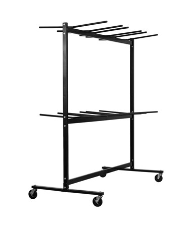 AdirOffice Two Tier Chair Cart