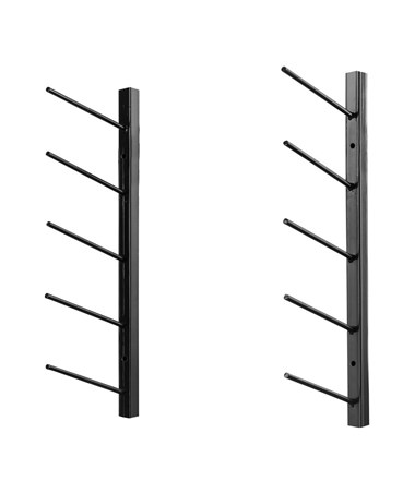 AdirOffice Wall Mount Blueprint Steel Rack ADI692-36-BLK