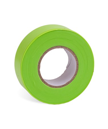 AdirPro 150 ft. Fluorescent Lime Flagging Tape - Pack of 12 719-150-FLL