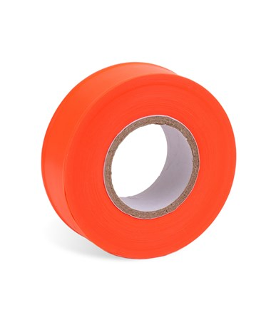AdirPro 150 ft. Fluorescent Orange Flagging Tape - Pack of 12 719-150-FLO