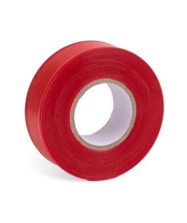 AdirPro 150 ft. Fluorescent Red Flagging Tape - Pack of 12 719-150-FLR