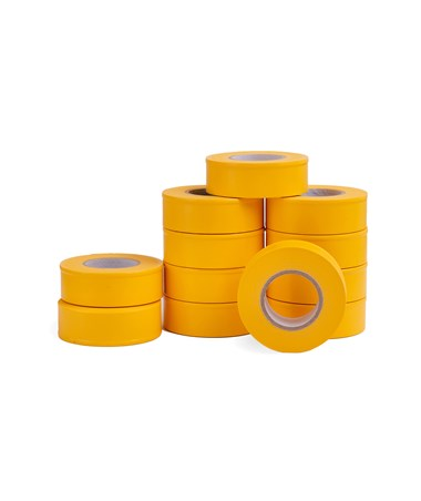AdirPro 150 ft. Fluorescent Yellow Flagging Tape - Pack of 12 719-150-FLY
