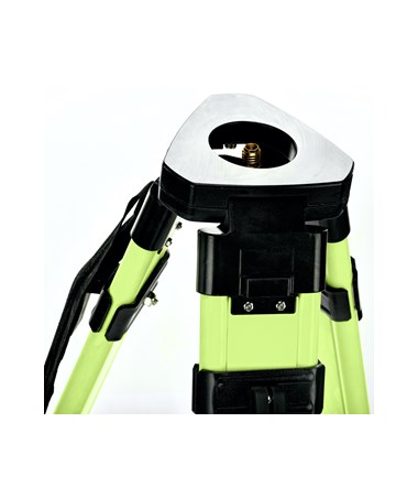 AdirPro Aluminum Universal Contractor's Tripod with Quick Clamp - HiViz Green ADI740-02-HVG