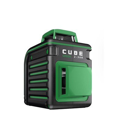 AdirPro Cube Green 2-360 Degree Horizontal & Vertical Cross Line Laser ADI790-42