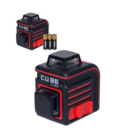 AdirPro Cube 2-360 Degree Horizontal & Vertical Cross Line Laser ADI790-38