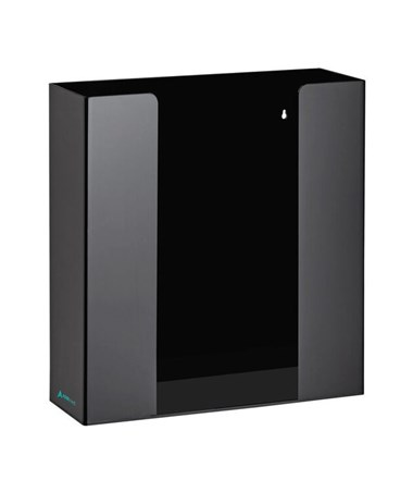 AdirMed Black Acrylic Glove Dispenser, Double Box ADI902-02-BLK