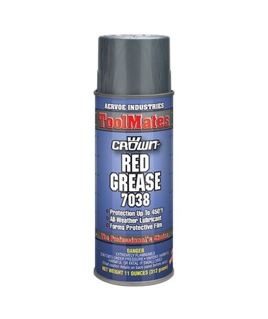 Aervoe ToolMates Red Grease Lubricant (12-Pack) AER7038