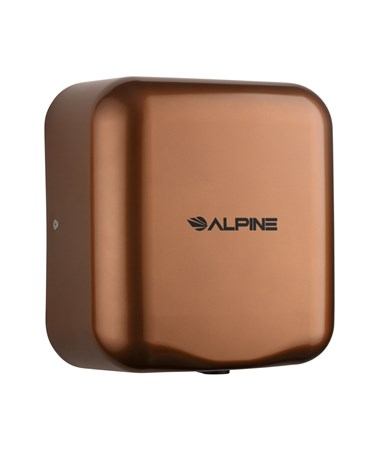 Alpine Hemlock High Speed Commercial Hand Dryer, Coffee, 120 Volts 400-10-COP