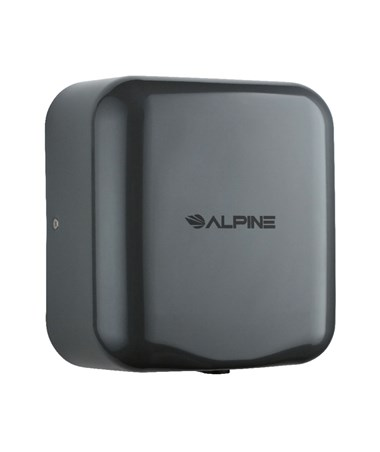 Alpine Hemlock High Speed Commercial Hand Dryer, Gray, 120 Volts 400-10-GRY