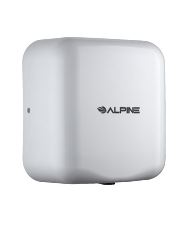 Alpine Hemlock High Speed Commercial Hand Dryer, White, 120 Volts 400-10-WHI
