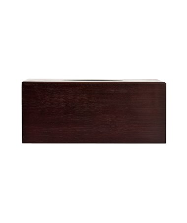 "Alpine Wooden Tissue Box Holder with Espresso Finish, 4.5"" H x 10.5"" W x 6"" D ALP406-ESP"