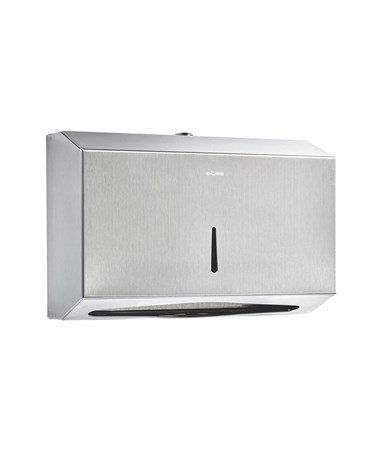 Alpine Stainless Steel C-Fold/Multifold Paper Towel Dispenser ALP480-