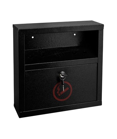 Alpine Quick Clean Cigarette Disposal Bin ALP490-02-BLK
