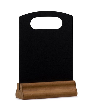 "Alpine Table-Top Memo Display Chalk Board, 8.26""W x 12.59""H ALP492-02-06"