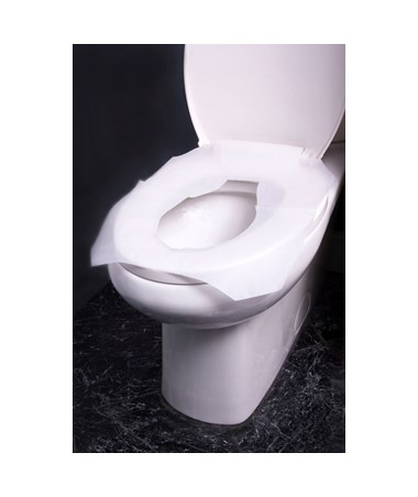 Alpine Half-Fold Flushable Toilet Seat Covers in 3, 250-Sheet Pack ALPALPP400