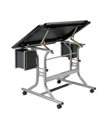 Alvin CraftMaster II Deluxe Art & Drawing Glass Top Drafting Table ALV-CM48GL