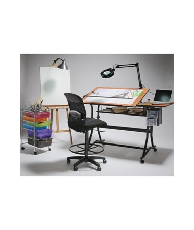 Alvin CraftMaster III Split Top Drafting Table ALV CM60 3 WBR