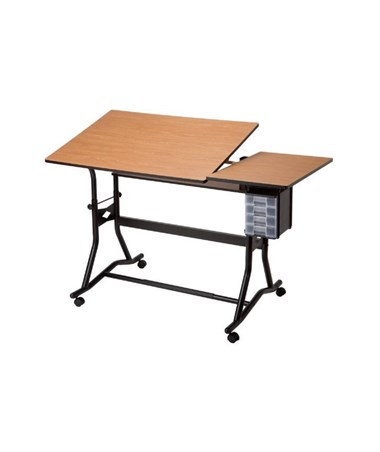 Alvin CraftMaster III Split-top Drafting Table ALV-CM60-3-WBR