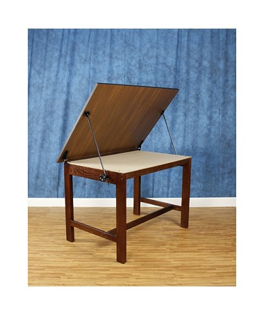 Alvin Titan Solid Oak Drafting Table ALV-WOB42