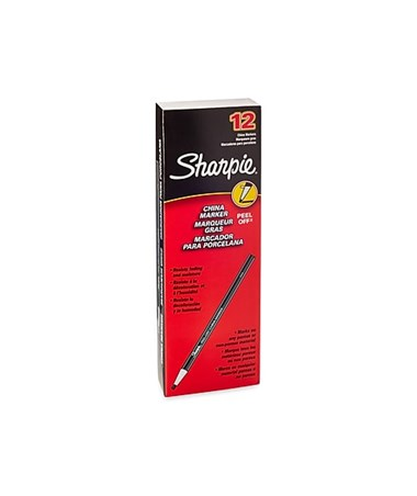 Sharpie Peel-Off China Marking Pencil (Qty. 12) ALV164T-