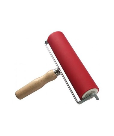 "Heritage Arts 8""L Professional Hard Rubber Brayer AB13070"