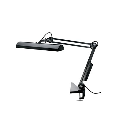 Alvin Fluorescent Task Light Black FL655-B