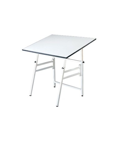 "Alvin 24""W x 36""L Professional Drafting Table, White Base MODEL X-4-XB"