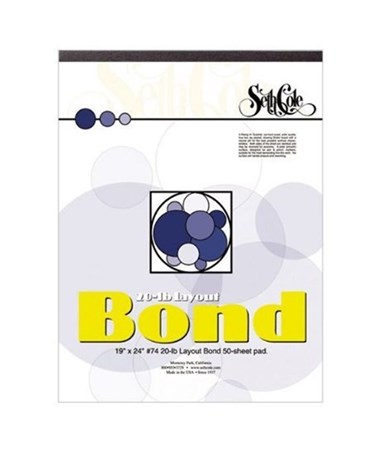 Seth Cole Layout Bond Paper Pad (Qty.50) SC74
