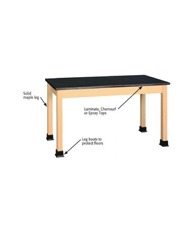 Alvin Shain Plain Student Table ALVSPT-5424P-