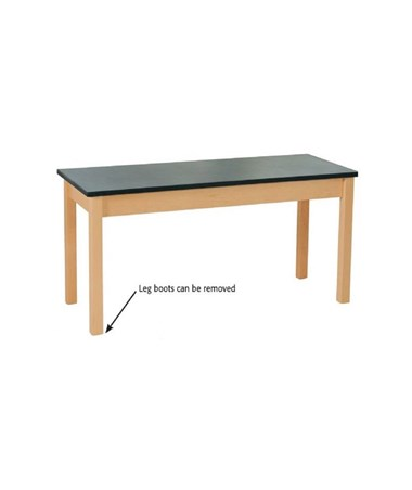 "Alvin 60""L Shain Plain Student Table, Plastic Laminate Top SPT-6024P"