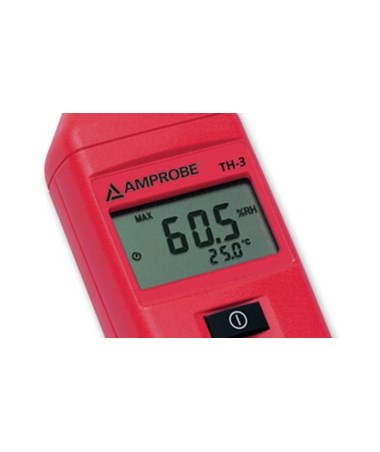 Amprobe TH-3 Humidity Meter with Extended Probe Stem AMP3027060