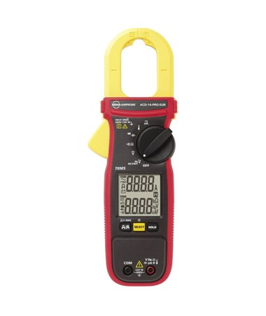 Amprobe ACD-14-PRO Dual-Display Digital Clamp Multimeter with True-RMS Measurement, Non-Contact Voltage Detector and Low-pass Filter AMP4718977