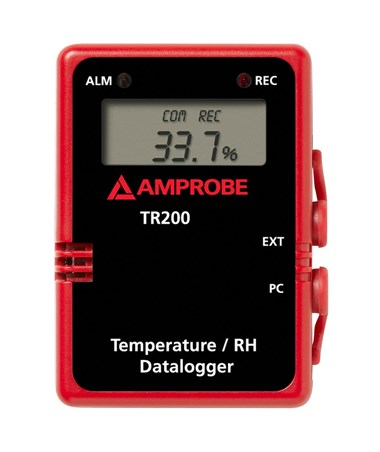 Amprobe TR200-A Temperature and Relative Humidity Data Logger AMP3477302