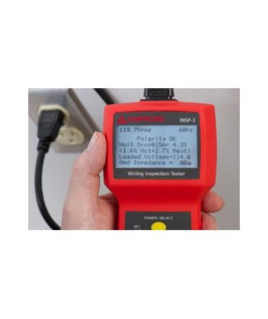 amprobe insp 3 wiring inspector circuit tester tiger supplies rh tigersupplies com Electrical Tester Electrical Tester