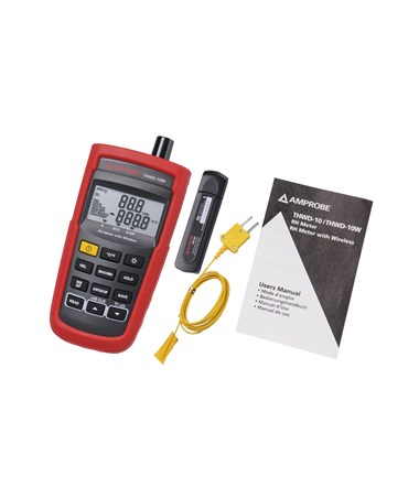 Amprobe THWD-10W Relative Humidity and Temperature Meter with Wireless Transmission AMP3730051