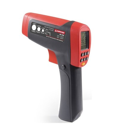 Amprobe IR-750 Infrared Thermometers, 50:1 D:S AMP4109594