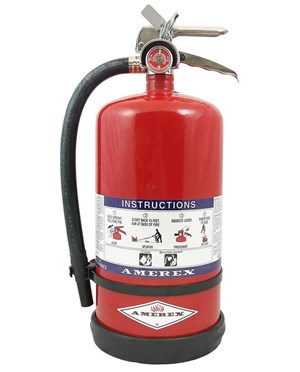 Amerex High Performance Fast Flow Purple K Dry Chemical Fire Extinguishers (Class B:C)