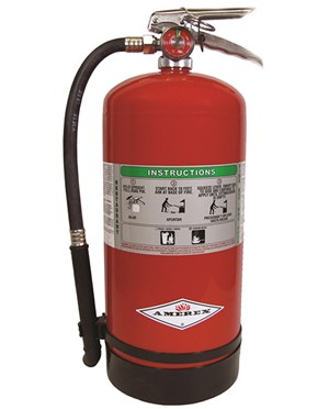 Amerex 6-Liter Stored Pressure Wet Chemical Fire Extinguisher (Class K) - USCG-approved