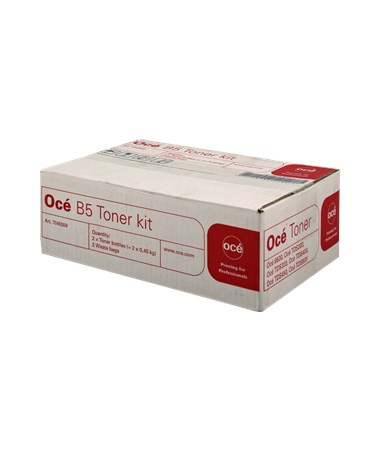 Oce Genuine B5 Toner Cartridge 2 Bottles B5