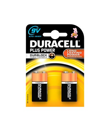 Duracell - 9V Batteries (2-Pack) BAT9V2DUR