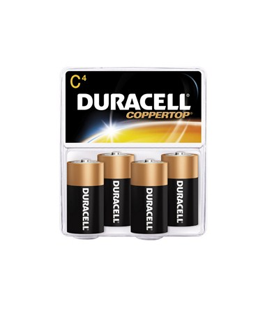 Duracell - C Batteries (4-Pack) BATC4DUR