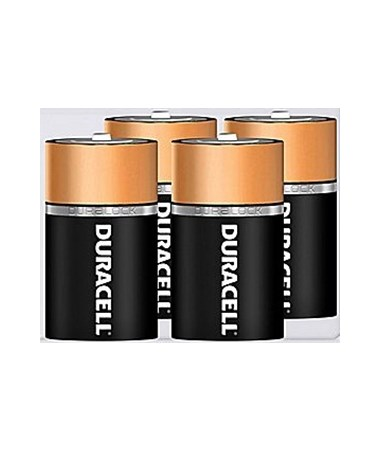 Duracell - D Batteries (4-Pack) BATD4DUR