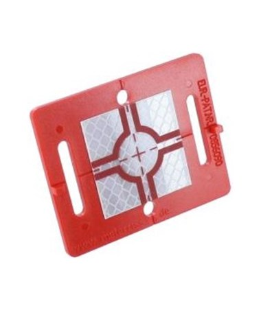 Berntsen Retro Reflective Survey Target with 40 x 40 mm Target Reflector Sticker RED BERRS60