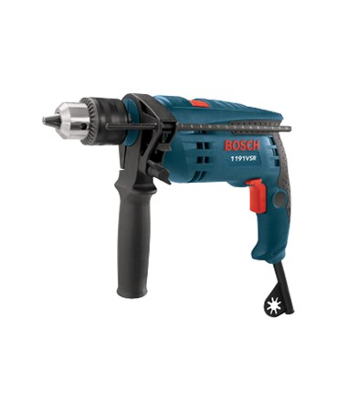 "Bosch 1191VSRK 120V Single Speed 1/2""  Corded Hammer Drill BOS1191VSRK"