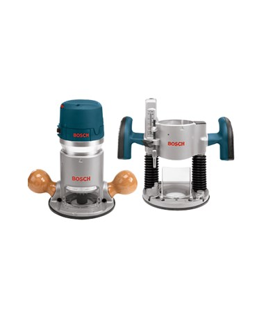 Bosch 1617EVSPK 2.25 HP Combination Plunge & Fixed-Base Router Pack BOS1617EVSPK