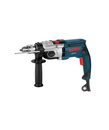 "Bosch HD19-2D 120V  1/2"" 2-Speed Corded Hammer Drill w/Dust collection BOSHD19-2D"