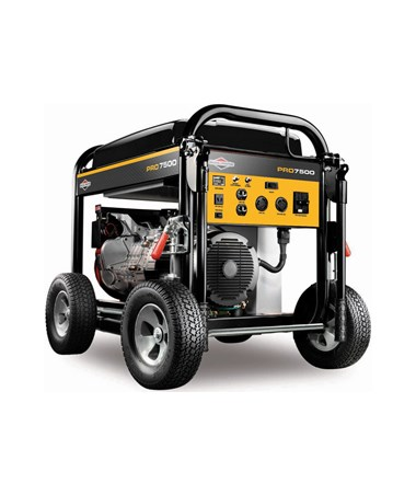 Briggs & Stratton 7,500 Pro Series Electric Start Portable Generator 30555