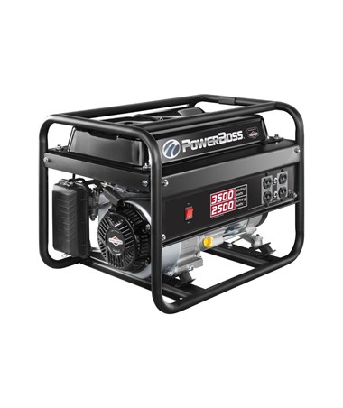 Briggs & Stratton PowerBoss 2,500 Watts Recoil Start Portable Generator 30666