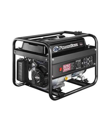 Briggs & Stratton PowerBoss 3,500 Watts Recoil Start Portable Generator w/ RV Outlet 30667