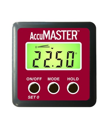 Calculated Industries AccuMASTER 2-in-1 Digital Angle Gauge